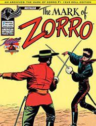 AM Archives: The Mark of Zorro #1 1949 Dell Edition
