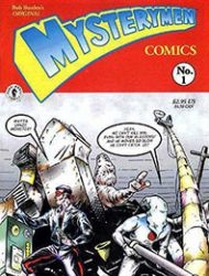 Bob Burden's Original Mysterymen Comics
