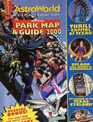Six Flags Official Park Map & Guide 2000