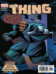 Startling Stories: The Thing - Night Falls on Yancy Street
