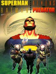 Superman and Batman Vs. Aliens and Predator